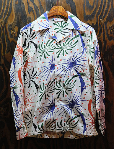 FIREWORKS LS COTTON SHIRT