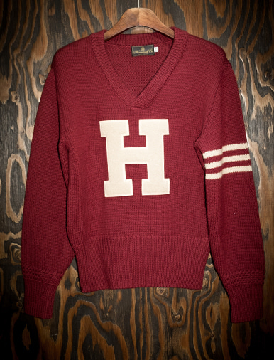 LETTERMAN SWEATER WAPPEN