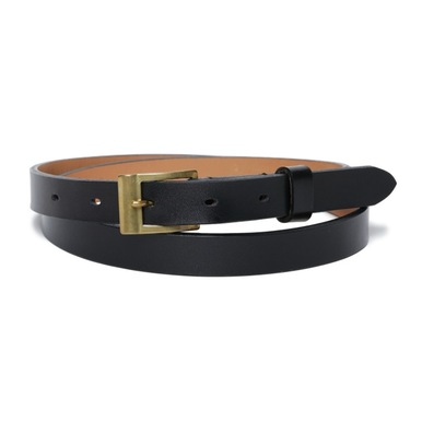 Steer Hide Belt Black