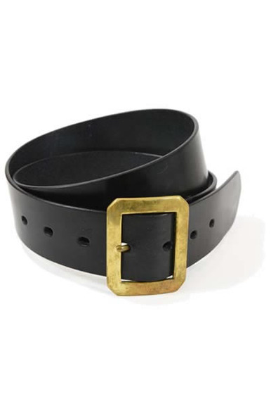 Bridle Leather Garrison Belt