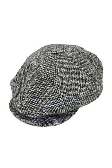 Wool Herring bone Casquette