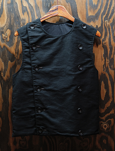 DOUBLE BREASTED SWINDLER VEST