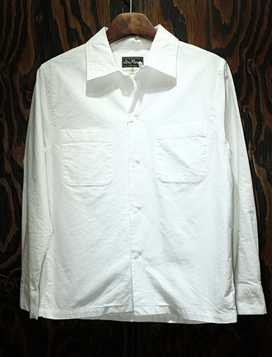 L/S COTTON OPEN SHIRTS