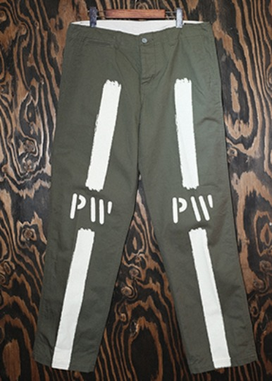 "41KHAKI TYPE TROUSERS ""P.W"""