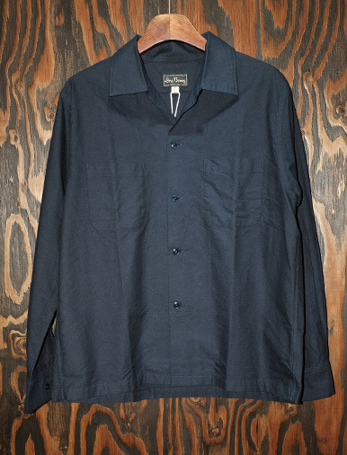 L/S COTTON OXFORD OPEN SHIRTS