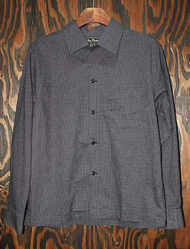 "L/S OPEN SHIRTS ""PIN DOT"""