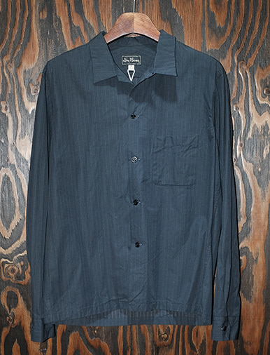 L/S STRIPE OPEN SHIRTS