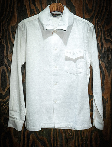ROLL COLLAR BD SHIRT