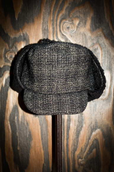 WOLF TWEED STORM KING FLIGHT CAP