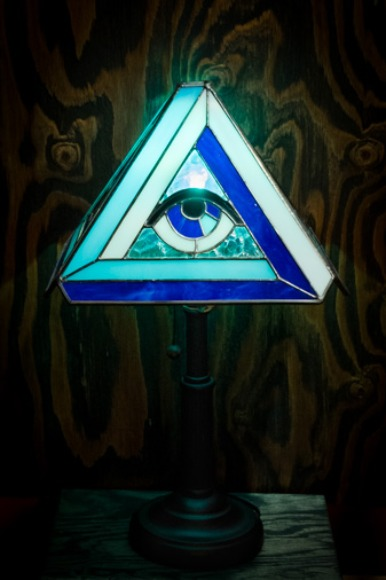THIRD EYE STAND LAMP