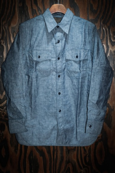 6.5oz Chambray US Navy Shirts