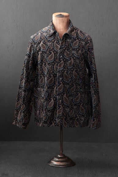 PAISLEY CORD WORKER'S JACKET