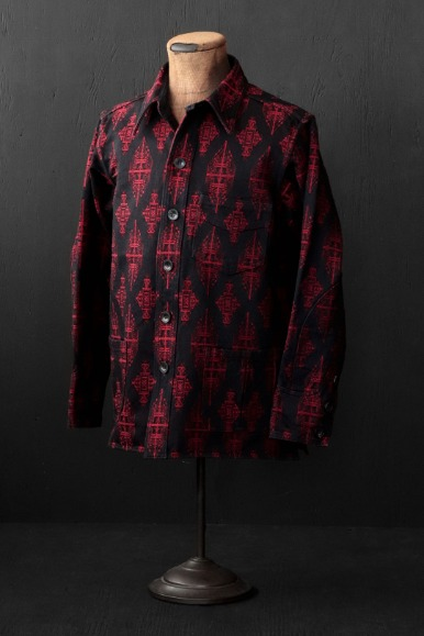 HEAVY WEIGHT GUL JACQUARD PIGPEN JACKET