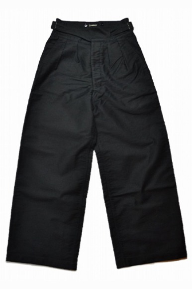 MOLESKIN WIDE GURKHA PANTS