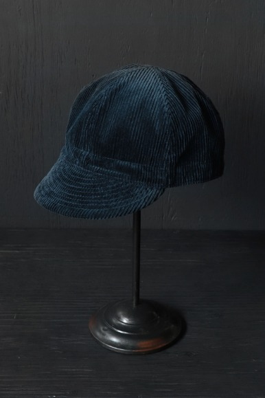 8W Corduroy Mechanics Cap